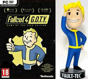 Fallout 4: Game of the Year Edition (PC) + Fallout 76 Bobblehead Figure - 12.7 cm (Fnac.fr)