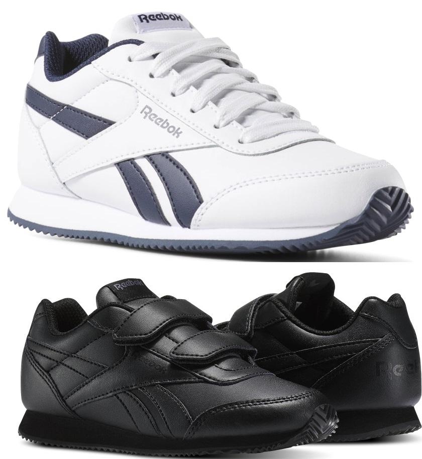 Reebok Royal Classic Jogger 2.0 Kinderschuhe weiß/blau oder in schwarz 22,5 - 35 in