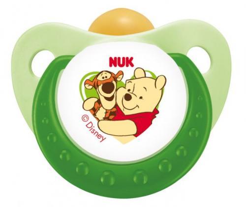 2 Disney (Winnie Puh) Schnuller von NUK, Größe 1,2 oder 3 allerhöchstens 4,74 -> s. Beschreibung
