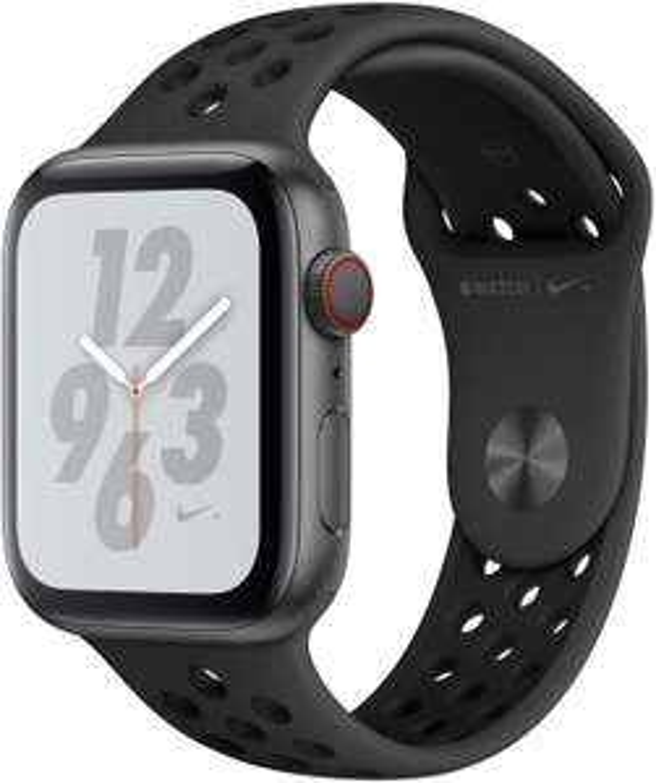 [Janado /Rakuten] Apple Watch 4 Nike+ GPS LTE 44mm grau Sportband schwarz MTXM2 (Wie NEU in OVP) + 2330 Superpunkte
