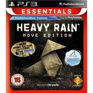 (UK) Heavy Rain [PS3 mit Move Features] für 14.49€ @ play