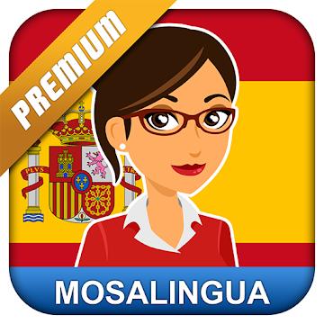 Spanisch Lernen mit MosaLingua Premium | 4.5* | 100.000+ Downloads | kostenlos für Android
