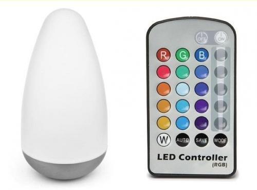 iBOOD.de verkauft heute eine RGB LED Lampe inkl. FB für 30,90€ inkl. Versand