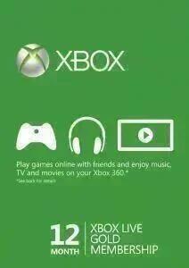 12 Monate Xbox Live Gold für 24,29€ (CDKeys VPN BR)