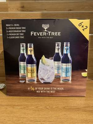 Fever Tree Tonic Water - 8x0,2l Flaschen