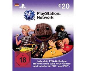 [conrad] PlayStation Network Card 2x20 Euro also 40€ PSN Guthaben für 32,50€