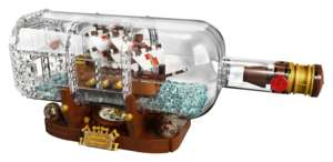 21313 Schiff in der Flasche