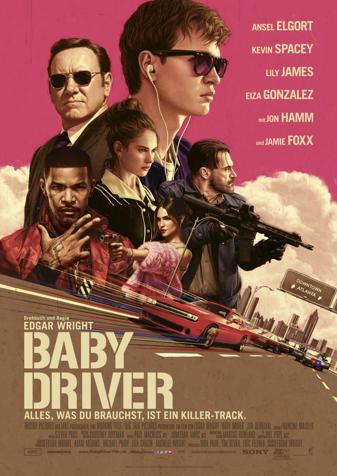 [iTunes] Baby Driver für 3,99€ in 4K HDR / Dolby Vision und Dolby Atmos