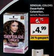 Schwarzkopf Sensual Colors Angebot und Coupon kombinierbar: z.B.  bei Müller für 4,99€ (6,75€ UVP) - Coupon 2€ = 2,99€