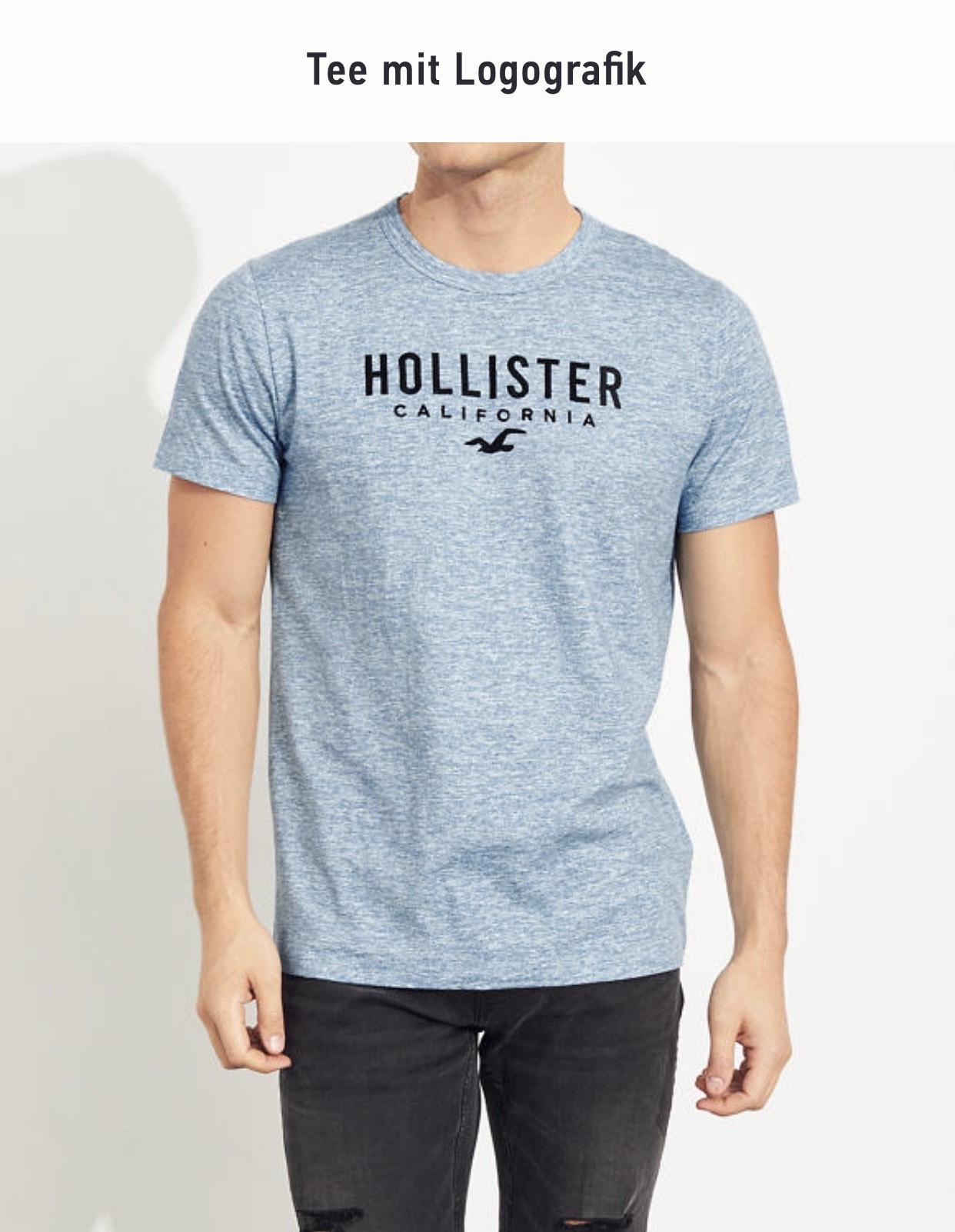 Bis zu 60% Rabatt im Sale bei Hollister + Versand ab 25€ Kostenlos