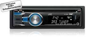 [Online] JVC KD-DB42EC1 Autoradio mit Dual-Aux,  DAB+Tuner, CD-Player, Bluetooth, USB