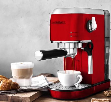 Gastroback Design Espressomaschine Piccolo