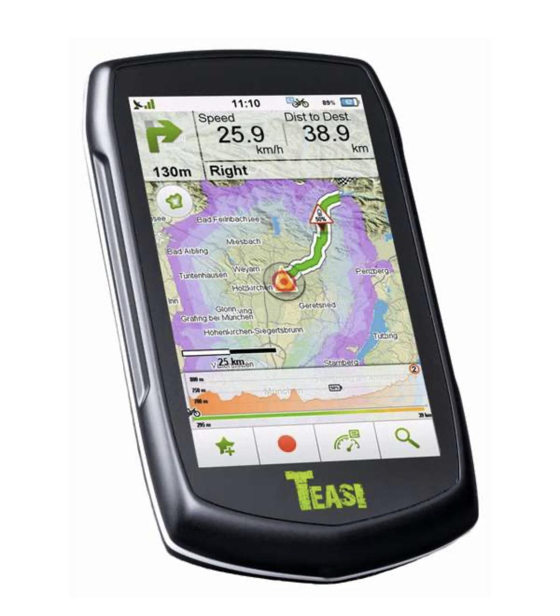 Teasi Volt Outdoor Navigation GPS E-Bike Smart