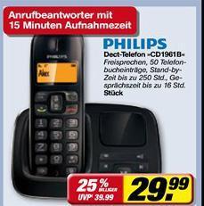 Philips CD1961B inkl. AB @Toom scheinbar Bundesweit