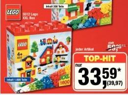 LEGO 5512 XXL Box 1.600 Steine - METRO Hannover/Bundesweit