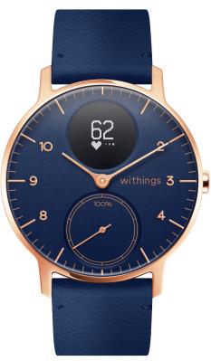 Withings Steel HR 36mm Blue & Rose Gold mit Herzfrequenz und Aktivitätsmessung