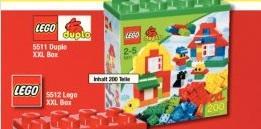 LEGO Duplo 5511 XXL Box 200 Steine - METRO Hannover/Bundesweit