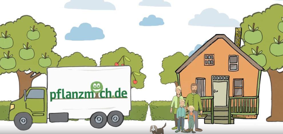 Später liefern lassen bis zu 20 Prozent Rabatt bei pflanzmich.de
