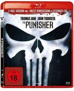 The Punisher - 2-Disc Set inkl. Uncut Kinofassung & Extended Cut (Blu-ray) für 8,99€ (Amazon)