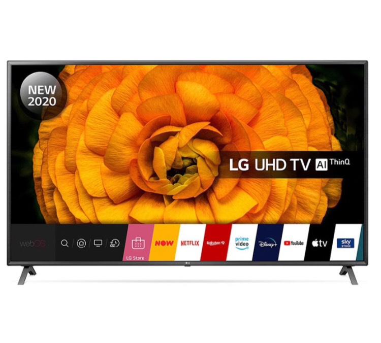 LG 86UN85006LA 86 Zoll TV mit HDMI 2.1 Modell 2020 100 Hz nativ
