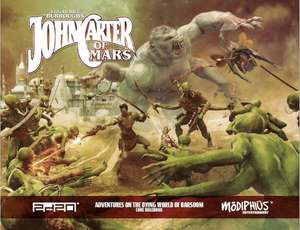 John Carter of Mars (Grundregelwerk, Pen & Paper, PDF)