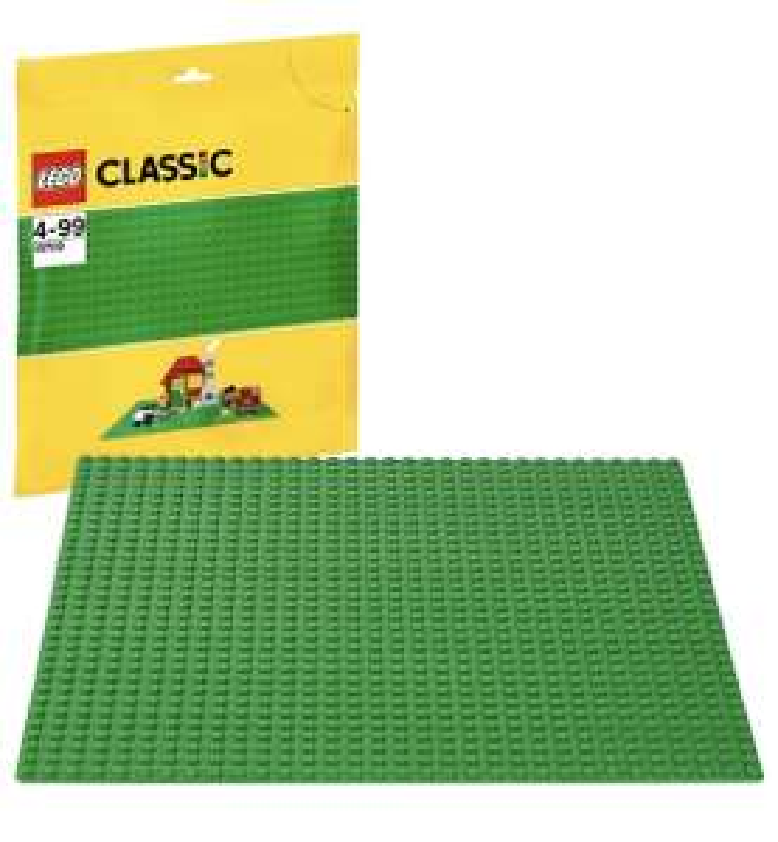 [PRIME] Lego Classic Bauplatte in Grün