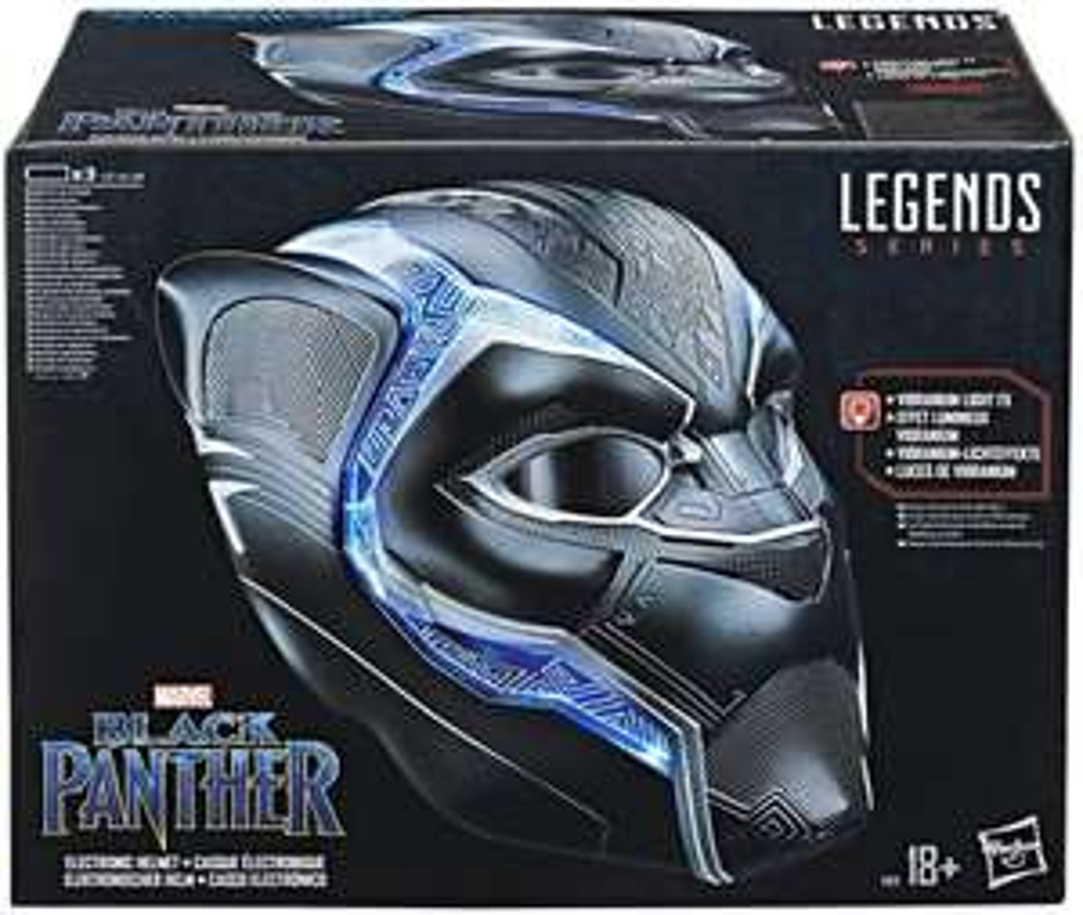 Marvel Avengers - Legend Series: Black Panther, elektronischer Helm (Zavvi)