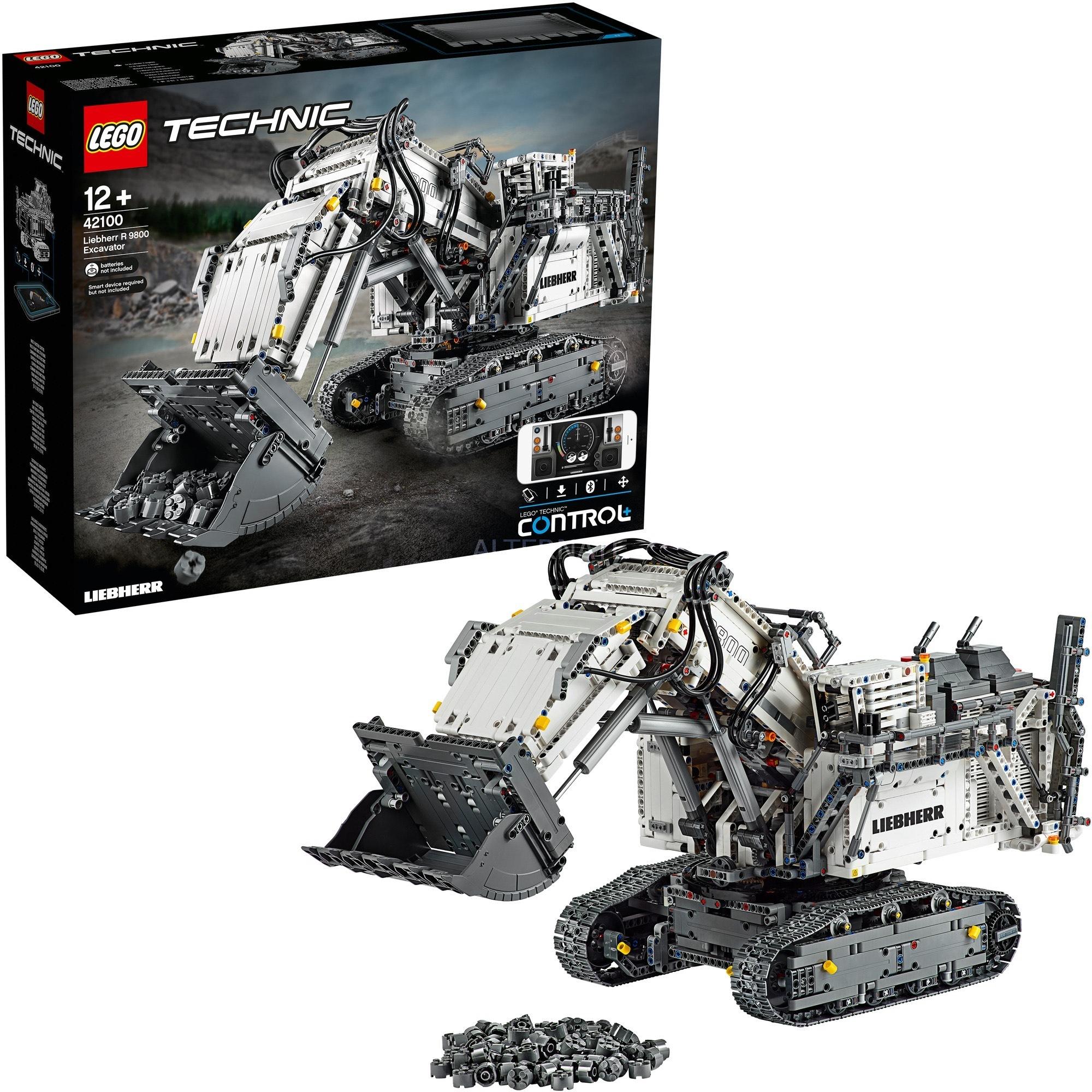 LEGO 42100 Technic Liebherr Bagger R 9800 (Alternate)