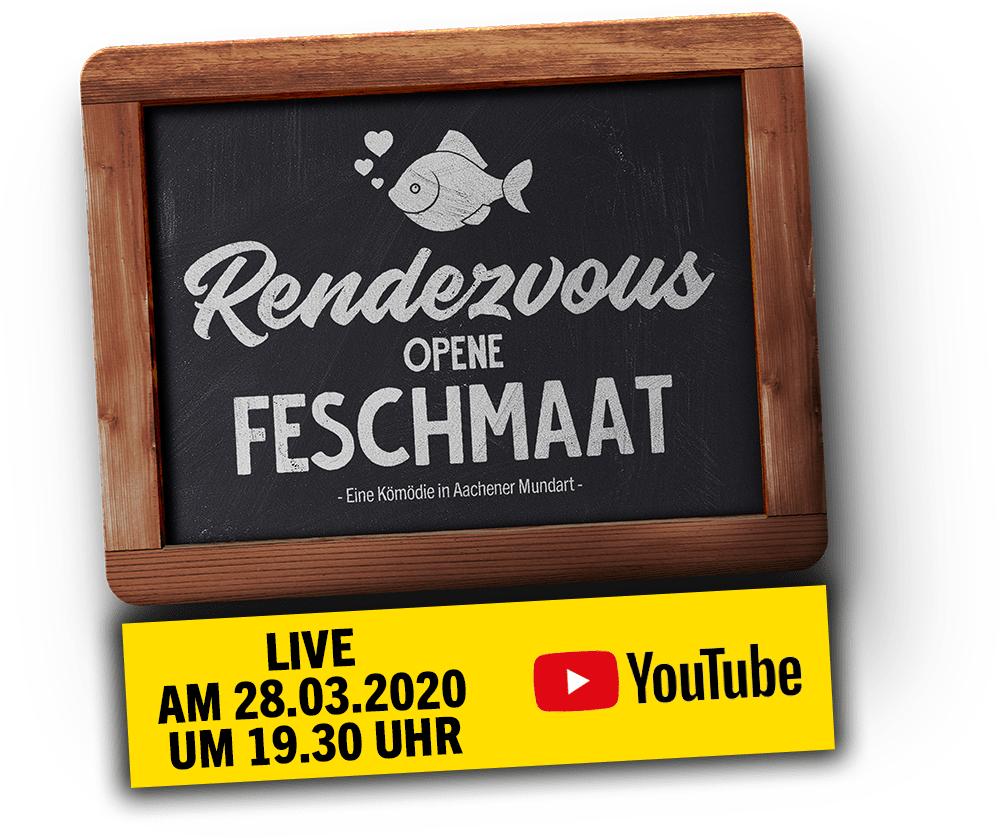 """Kostenloses Theaterstück op Platt - """"Rendezvous opene Feshmaat"""""""