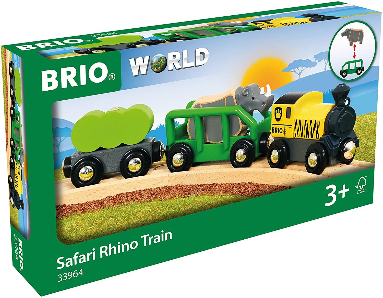 BRIO World Safari-Zug mit Nashorn für 12€ (Amazon Prime & Saturn)