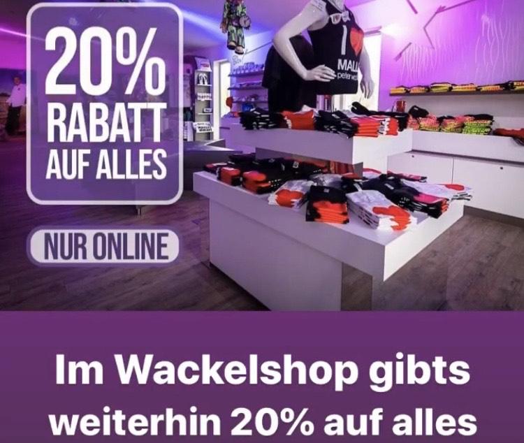 Wackelshop Peter Wackel Bierkönig 20% auf alles
