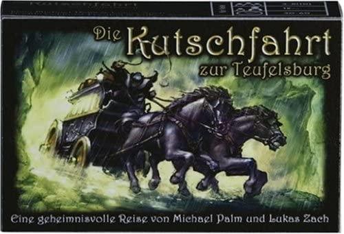 Kutschfahrt zur Teufelsburg (76037) Kartenspiel - Eine geheimnisvolle Reise. Für 3-8 (10) Spieler. Spieldauer: ca. 30-60 Min.