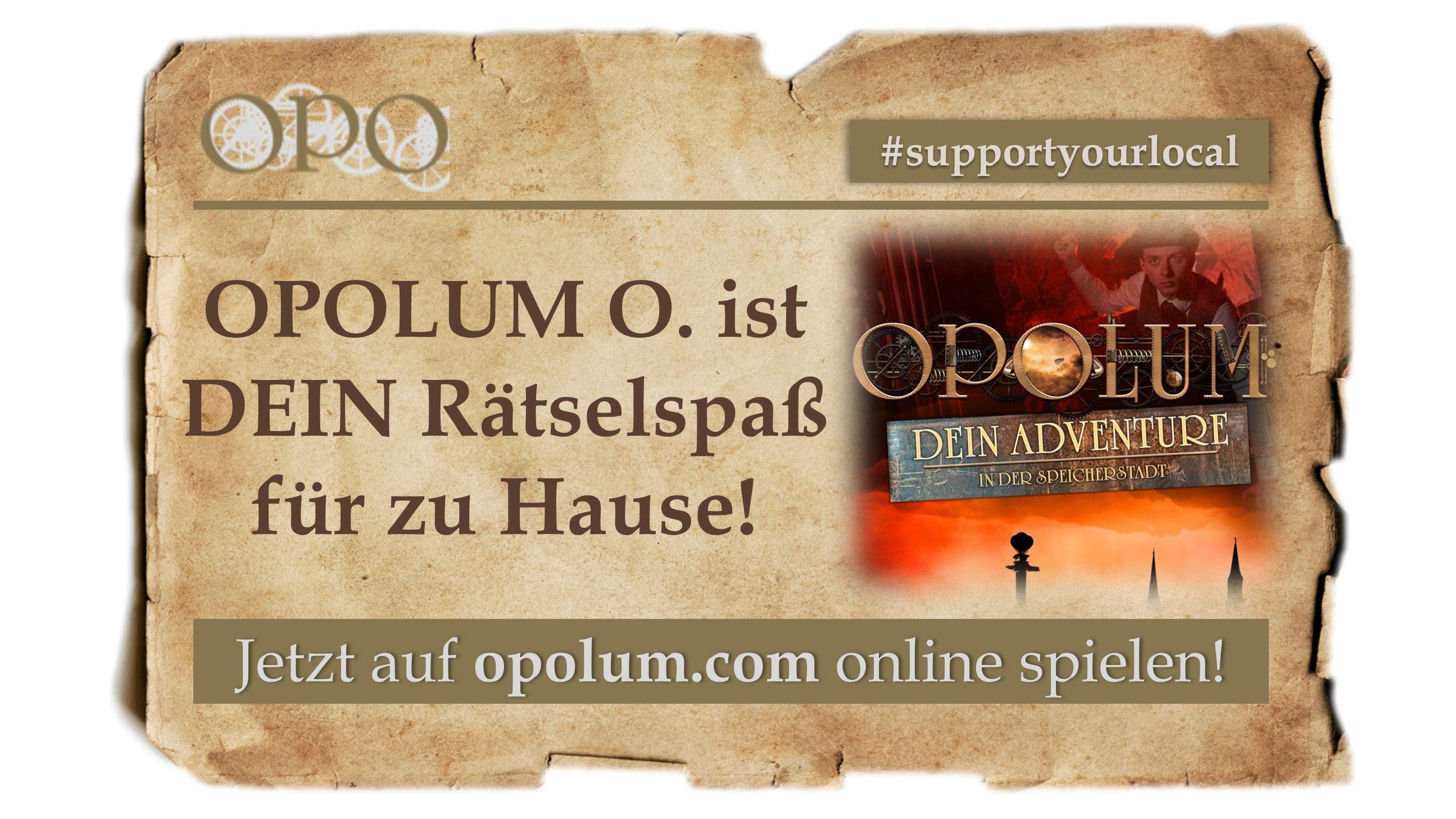 [OPOLUM] Online Escape Game für Zuhause
