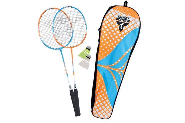 [Thalia] Talbot Torro 449402 Badminton-Set Attacker 2 Schläger, 2 Bälle & Tasche (VSK-frei dank Thalia Club oder Buchtrick)