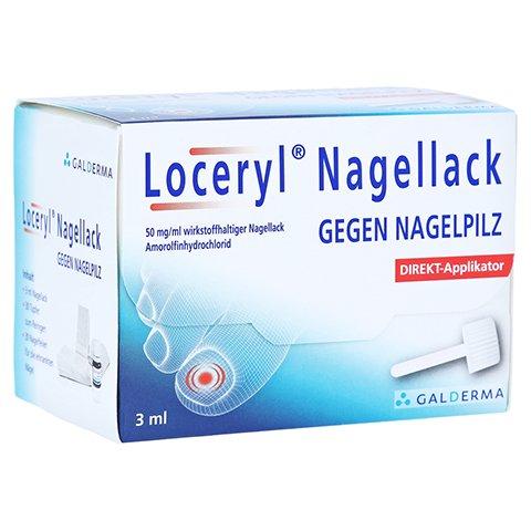 Loceryl gegen Nagelpilz (3ml) + 20 Tabl. Paracetamol für 15,97€ dank Gutschein