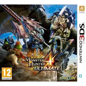 Monster Hunter 4: Ultimate (3DS) für 9,98€ (Cdiscount)