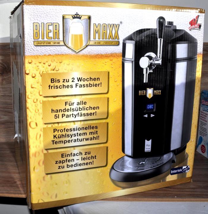 [Rakuten] ZAPFANLAGE von BIER MAXX Kühlsystem Temperaturwahl 5L Bier Anlage (B-Ware, Kundenretoure)