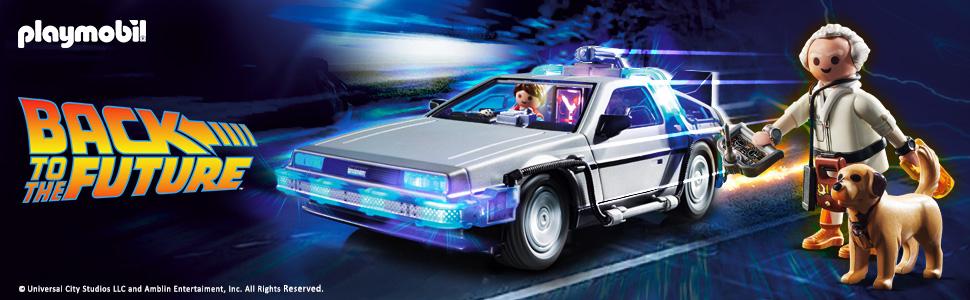 Playmobil®Zurück in die Zukunft 70317 - DeLorean + 70459 - Marty McFly und Dr. Emmett Brown erscheint am 15.05.2020