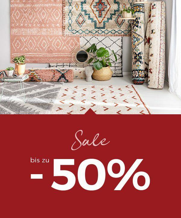 Bis zu 70% auf Teppiche mit Gutscheincode bei Benuta