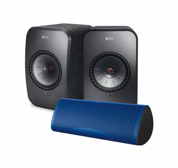 KEF LSX + Bluetooth Lautsprecher
