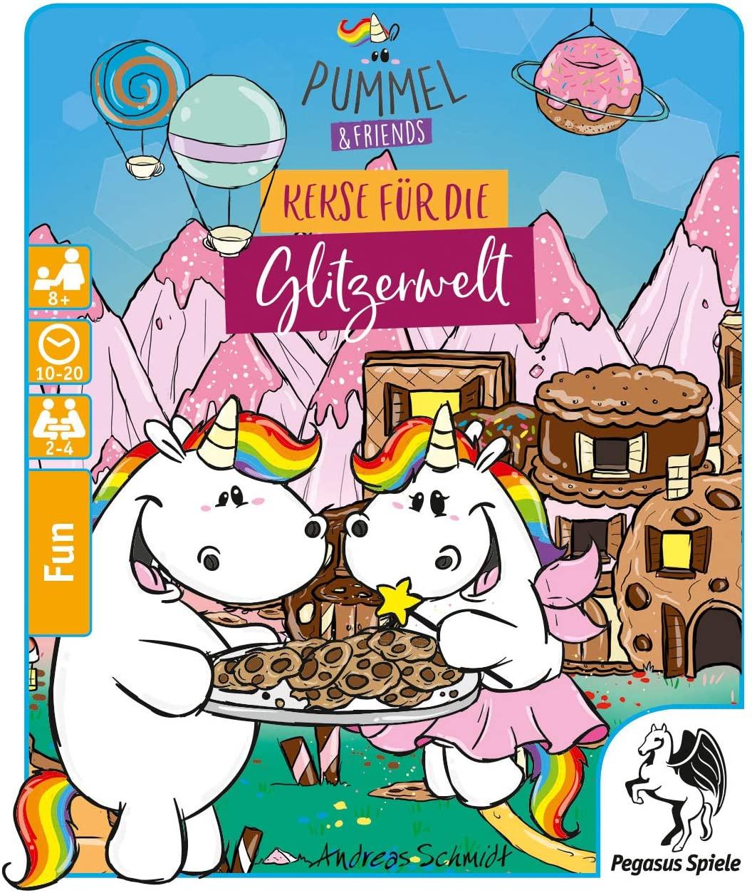 Pegasus Spiel Pummel & Friends - Kekse für die Glitzerwelt (20037G) für 2,97€ (Amazon Prime)