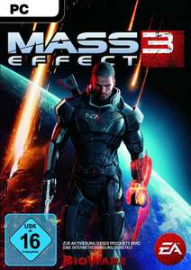 Mass Effect 3 (PC/Origin Code) für 2,49€ & Mass Effect 3 DLC-Bundle für 11,99€ (Amazon)