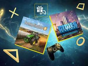 PlayStation Plus Mai 2020: Cities: Skylines PlayStation 4 Edition & Landwirtschafts-Simulator 19 (PS4)