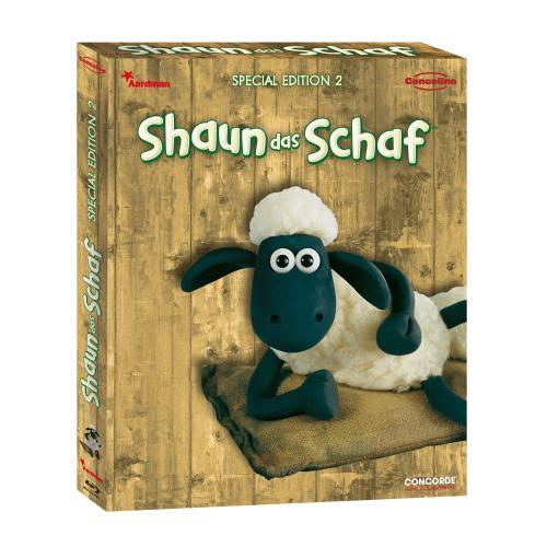 Shaun das Schaf - Box 2 [Blu-ray] [Special Edition] für 9,97 € @ Amazon.de(Wieder da)!!