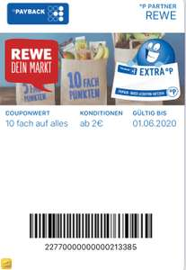 Rewe Payback Coupons