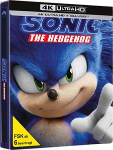 Sonic The Hedgehog 4K UHD Steelbook [CeDe.de] - Deutsche Version