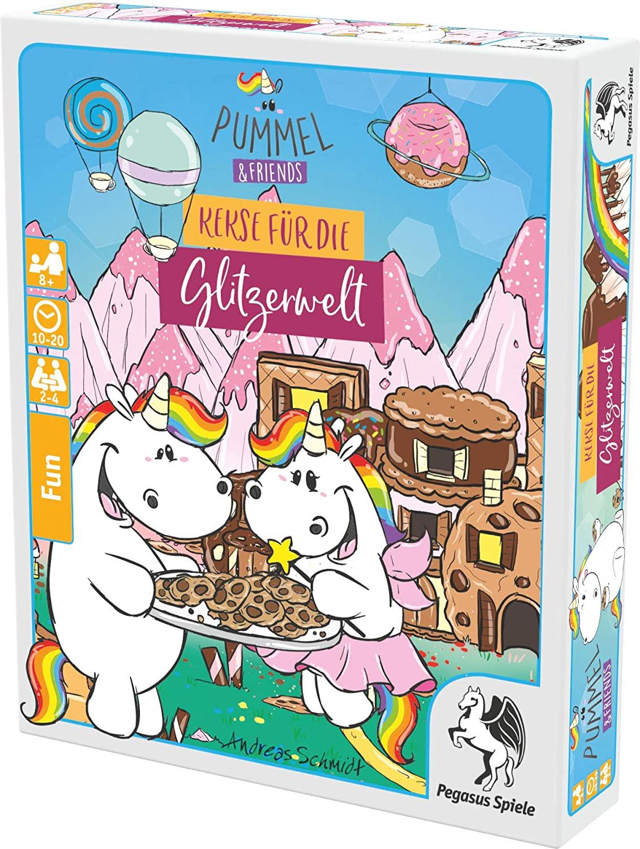 Pegasus Spiele 20037G - Pummel & Friends – Kekse für die Glitzerwelt   Amazon Prime