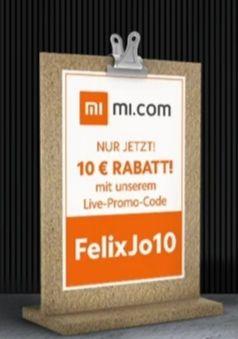 10€ Rabatt im Xiaomi Online Shop MBW 69€