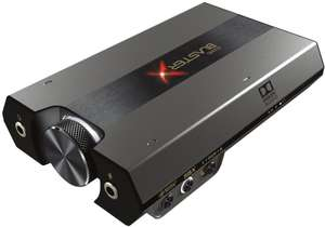 Sound blasterx G6 externe Soundkarte