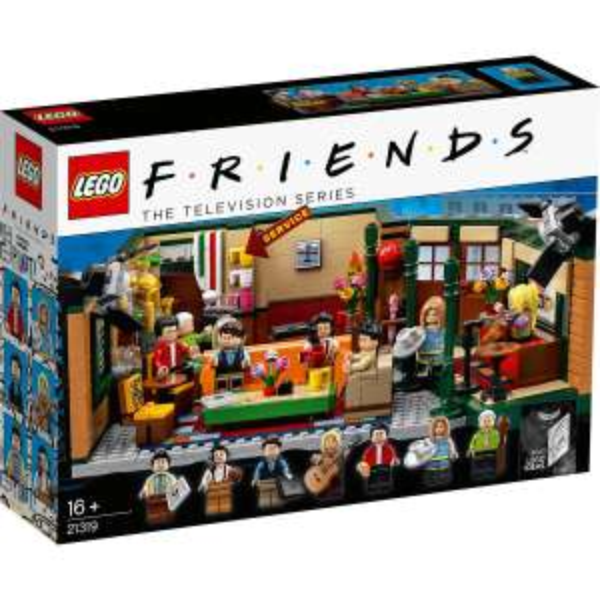 Lego 21319 - IDEAS Friends Central Perk Cafe